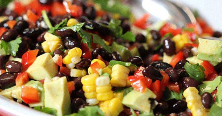 avocado black bean